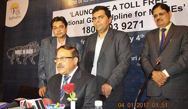 Shri Rajeev Swarup (IAS), Principal Secretary – MSMEs, Govt. of Rajasthan,