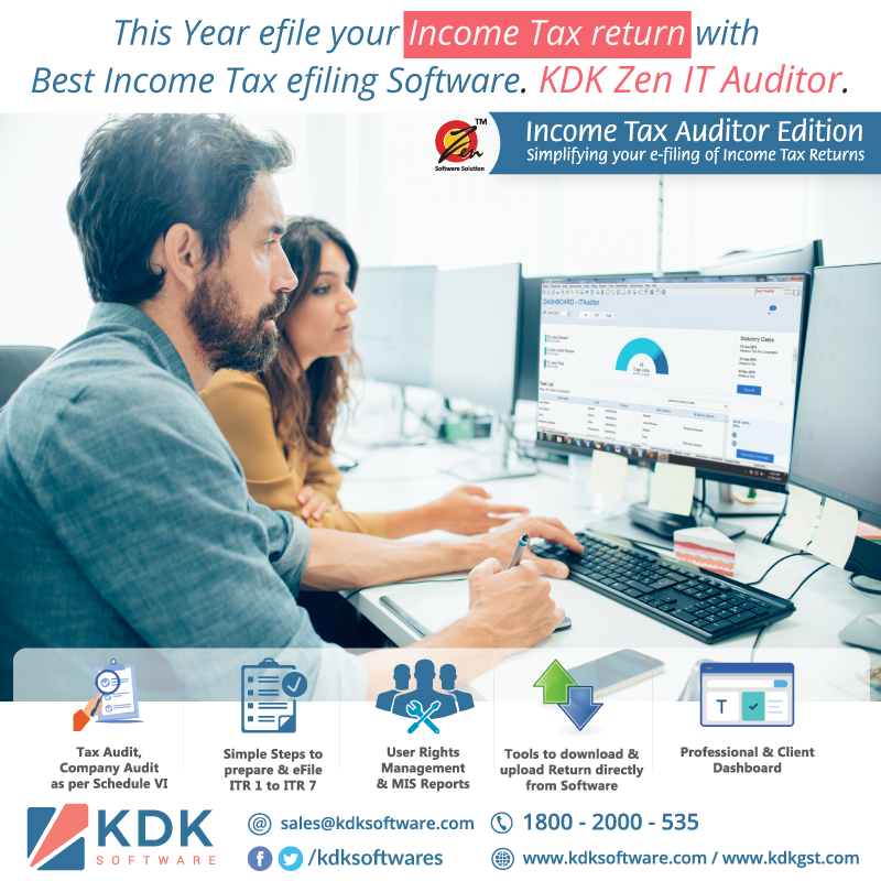 This Year efile your #IncomeTax return with best Income Tax efiling Software.
