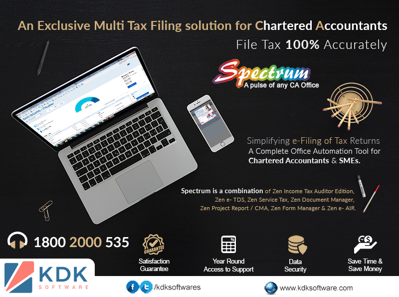 An Exclusive Multi Tax Filing solution for Chartered Accountants