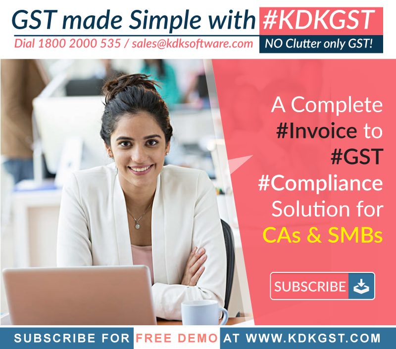 A Perfect #GST Solution for Chartered #Accountant & #SMB.