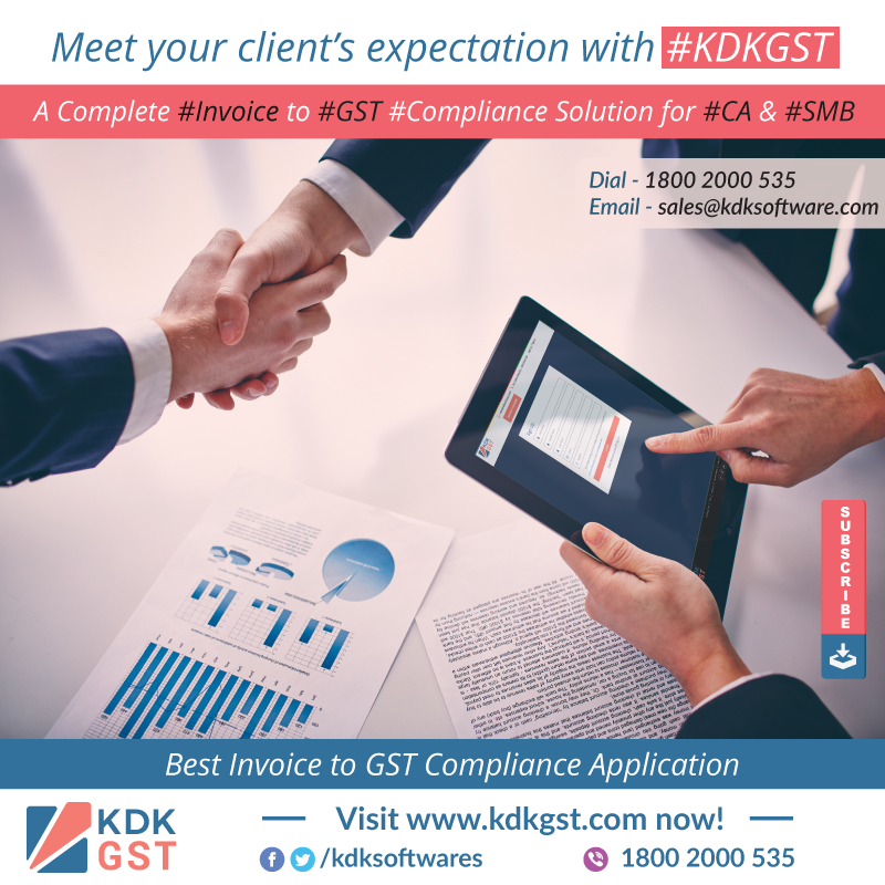 Meet your client's expectation with #KDKGST