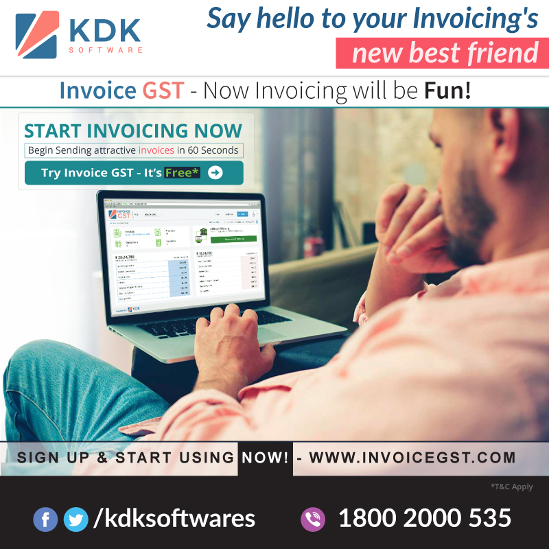 KDK Invoice GST - Now Invoicing will be FUN!
